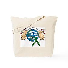 Organ Donation Globe Tote Bag
