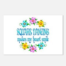Square Dancing Smiles Postcards (Package of 8)