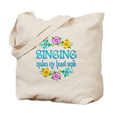 Singing Smiles Tote Bag