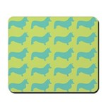 Retro Corgi Pattern Mousepad