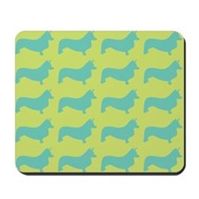 Retro Corgi Pattern Mousepad