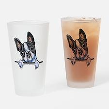 Curious Boston Drinking Glass
