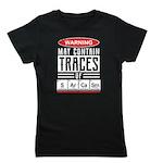 Peace, Love, Great Danes Organic Kids T-Shirt (dar