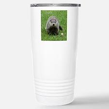 Groundhog (Woodchuck) Stainless Steel Travel Mug