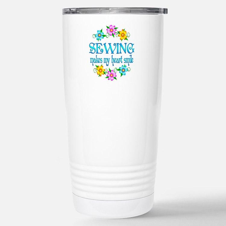 Sewing Smiles Travel Mug