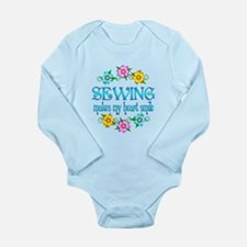 Sewing Smiles Long Sleeve Infant Bodysuit