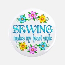 """Sewing Smiles 3.5"""" Button (100 pack)"""