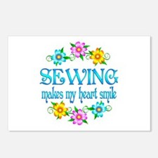 Sewing Smiles Postcards (Package of 8)