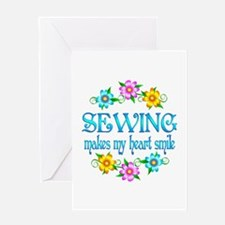 Sewing Smiles Greeting Card