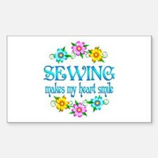 Sewing Smiles Decal