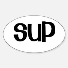 SUP (Stand Up Paddle) Oval Decal