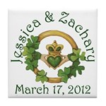 Jessica & Zachary Tile Coaster