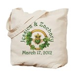 Jessica & Zachary Tote Bag
