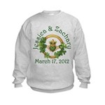 Jessica & Zachary Kids Sweatshirt
