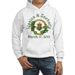 Jessica & Zachary Hooded Sweatshirt