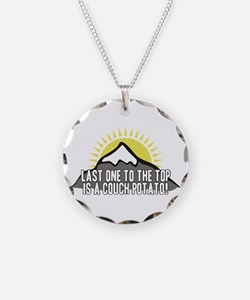 Last one to the Top Necklace
