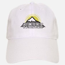 Last one to the Top Baseball Baseball Cap