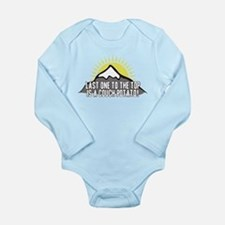 Last one to the Top Long Sleeve Infant Bodysuit