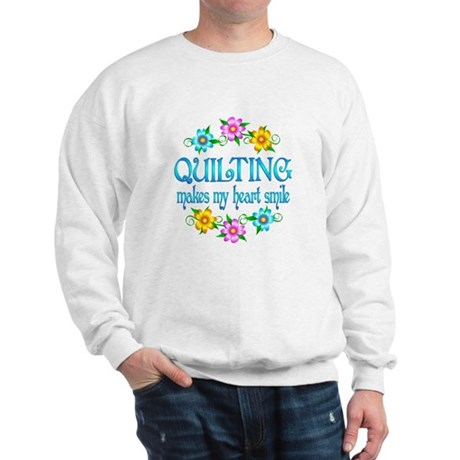 Quilting Smiles Sweatshirt