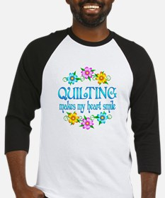 Quilting Smiles Baseball Jersey