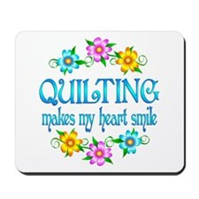 Quilting Smiles Mousepad