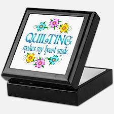 Quilting Smiles Keepsake Box