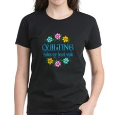 Quilting Smiles Tee