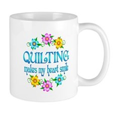 Quilting Smiles Small Mugs
