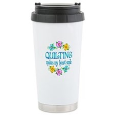 Quilting Smiles Travel Mug