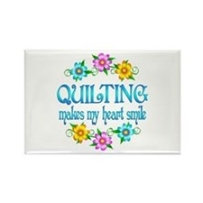 Quilting Smiles Rectangle Magnet (100 pack)