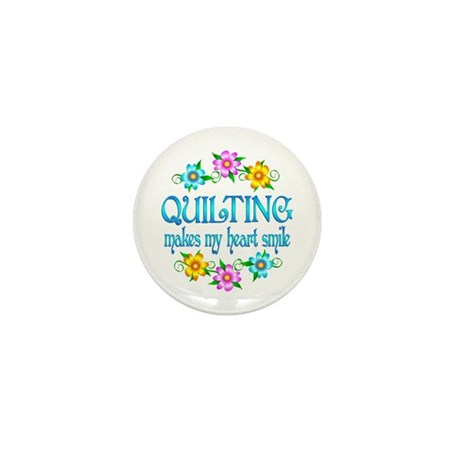 Quilting Smiles Mini Button (100 pack)
