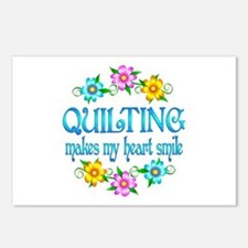 Quilting Smiles Postcards (Package of 8)