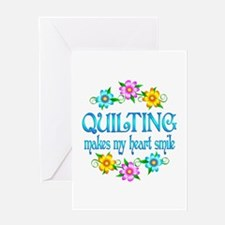 Quilting Smiles Greeting Card