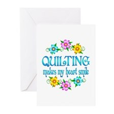 Quilting Smiles Greeting Cards (Pk of 20)
