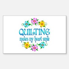 Quilting Smiles Decal