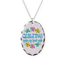 Quilting Smiles Necklace