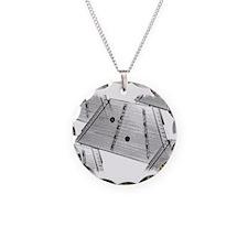 Hammered Dulcimer Necklace