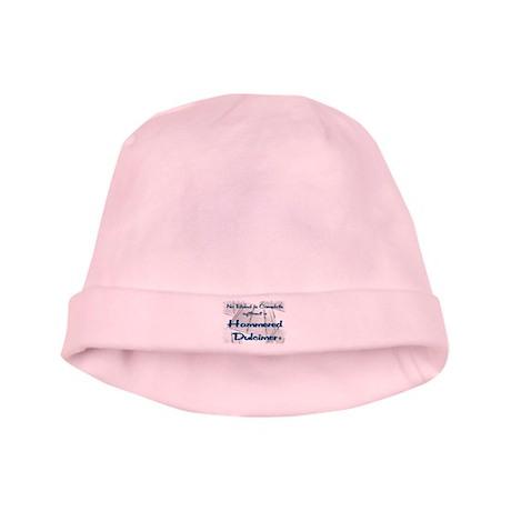 Hammered Dulcimer baby hat