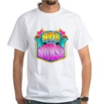 Super Nurse White T-Shirt