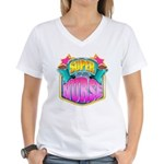Super Nurse Women's V-Neck T-Shirt