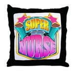 Super Nurse Throw Pillow