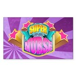 Super Nurse Sticker (Rectangle)
