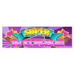 Super Nurse Sticker (Bumper)