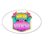 Super Nurse Sticker (Oval)