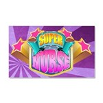 Super Nurse Car Magnet 20 x 12