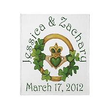 Jessica & Zachary Throw Blanket