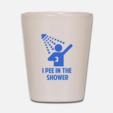 I Pee in the Shower Shot Glass