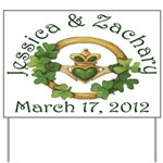 Jessica & Zachary Yard Sign