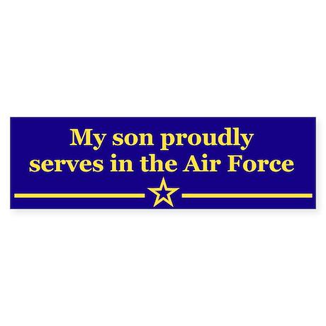 My son proudly serves Bumper Sticker