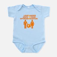 Love Hope Optimism Infant Bodysuit